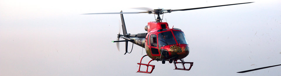 Heli Sightseeing in Nepal
